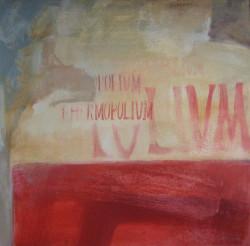 Feliratos fal Pompeiben 1 70x70 olaj