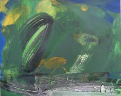 Még egy vízimadár, még egy zöld és arany, vázlat