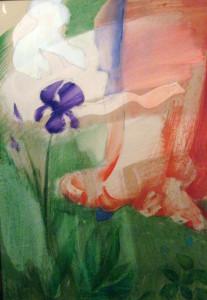 M S mester virágai 70x50 olaj, farost
