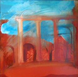 Pompei 1 50x50 olaj 2006