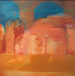 Pompei 2 50x50 olaj 2006