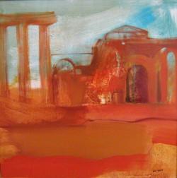 Pompei 3 50x50 olaj 2006