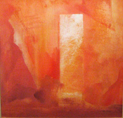 Pompei 50x50 olaj  karton 2006