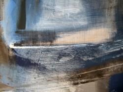 Tükör I. 60x80 akril, olaj részlet 2