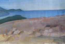 Tenger V 20x28 akvarell, papír