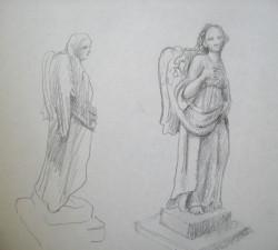 Barokk angyalok, Kőszeg