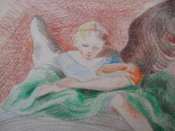 Barokk kapu angyallal 3