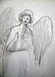 Félkarú angyal