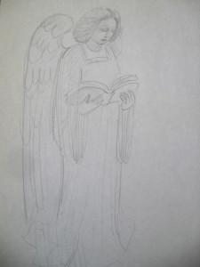 Olvasó angyal